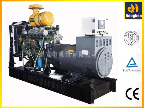 该柴油发电机组采用旋转式柴油